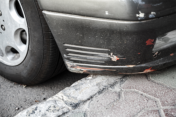 if your bumper got scratch we have can repair your paint